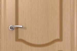 Дверь «Классика» светлый дуб полотно глухое