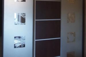Двери-купе с пескоструйным рисунком