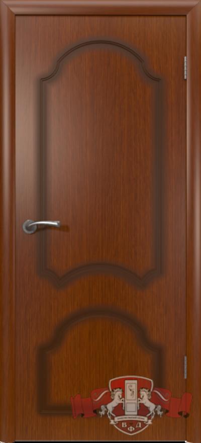 Дверь «Кристалл» макоре полотно глухое