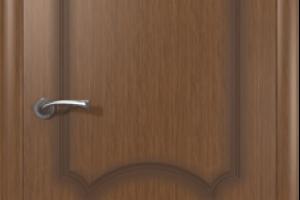 Дверь «Кристалл» орех полотно глухое