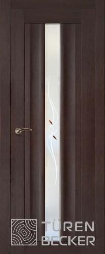 Дверное полотно Фрида ПО (Стекло с фьюзингом)