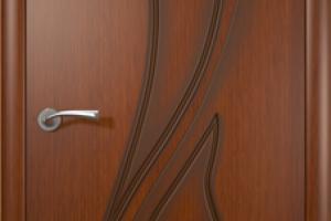 Дверь «Лилия» макоре полотно глухое