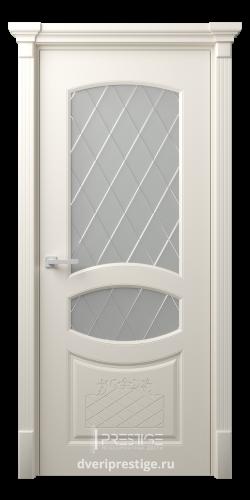 Дверное полотно Аделина со стеклом