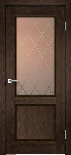 Дверное полотно CLASSICO 2V со стеклом