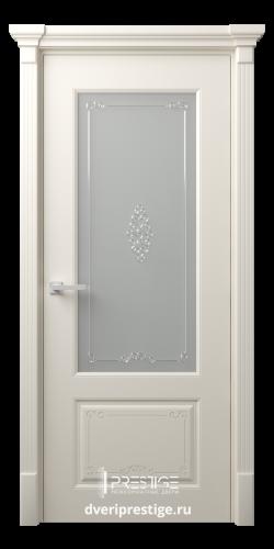Дверное полотно Эвиза со стеклом