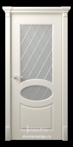 Дверное полотно Фелиция со стеклом