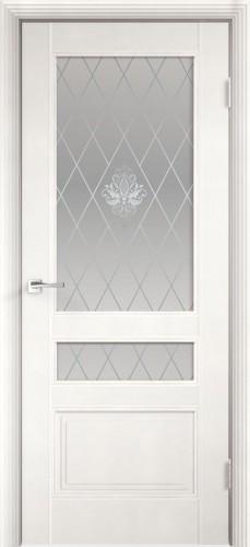 Дверное полотно LAURA 3V со стеклом