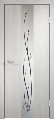 Дверное полотно SMART Z2 с зеркалом