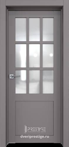 Дверное полотно Виста со стеклом