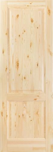 Дверь М12 сосна бесцветный лак