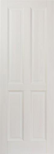 Дверь М1 белый воск