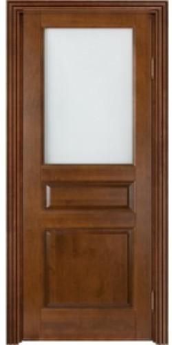 Дверь Ол/С-5 со стеклом (коньяк)