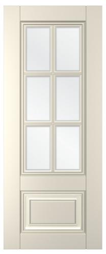 Дверное полотно Паола со стеклом