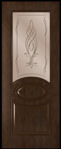 Дверное полотно Престиж со стеклом